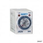 Реле времени JSZ6-2 задержка переключения 2 контактных группы 30min AC220V (CHINT), арт.294547