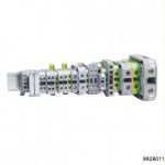 Зажим наборный JXB-4мм2 (JXB35А) серый, арт.9928011