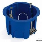 Коробка установочная D65x45мм для скрытого монтажа в полых стенах (с саморезами, с пластиковыми зажимами) (CHINT), арт.8810009
