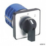 Кулачковый переключатель LW32-10/2 , 10А, 2Р, 1-0-2 (CHINT), арт.425010