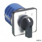 Кулачковый переключатель LW32-10/YH5/3 для вольтметра, 10А, UCA-UBC –UAB - 0-UAN-UBN -UCN, арт.425016
