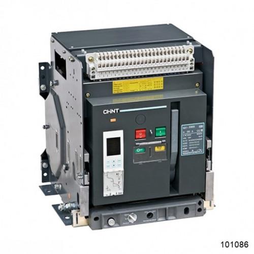 Воздушный автоматический выключатель  NA1-2000-2000М/3P стационарный, 2000A, 80kA, AC220В тип М (CHINT), арт.101086