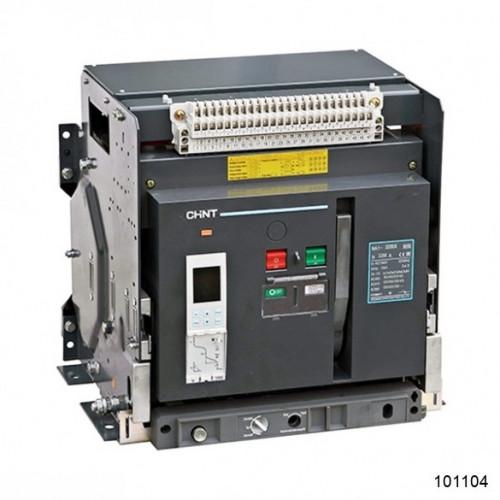 Воздушный автоматический выключатель  NA1-3200-3200М/3P стационарный, 3200A, 80kA, AC220В тип М (CHINT), арт.101104