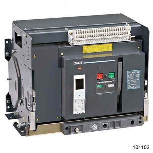 Воздушный автоматический выключатель  NA1-4000-4000M/3P выдвижной , 4000A, 80kA, AC220В тип М (CHINT), арт.101102