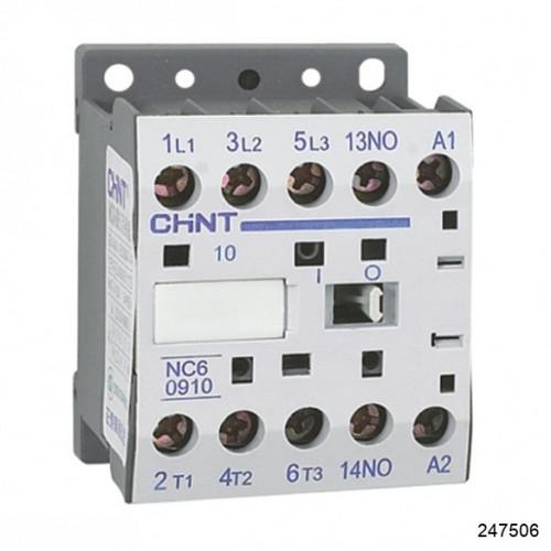 Контактор NC6-0904 9А 230В 4Р 50Гц (CHINT), арт.247084