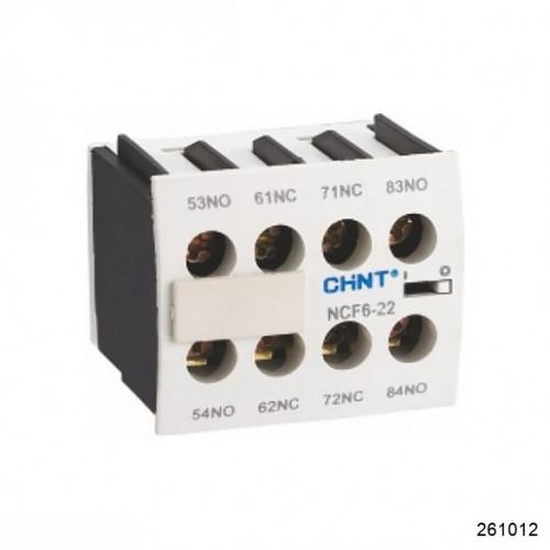 Приставка доп.контакты NCF6-13 к Контактору NC6 (CHINT), арт.261012