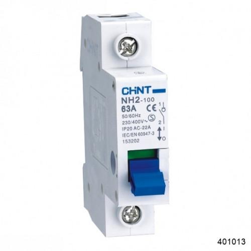 Выключатель нагрузки NH2 1P 32А (CHINT), арт.401013