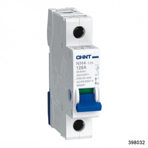 Выключатель нагрузки NH4 1P 125A (CHINT), арт.398032