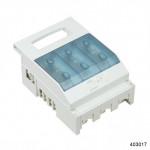 Откидной выключатель-разъединитель NHR17, 3P, 100А, с вспомогательными контактами. (CHINT), арт.403017