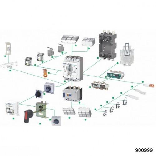 PIA-5 Устройство, блокирующее отсоединение и присоединение выключателя NM8(S)-400/3P (CHINT), арт.900999