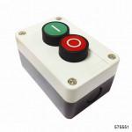 Кнопочный пост NP2-B222,1НО+1НО, арт.575551