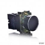 Кнопка управления NP2-BA21 без подсветки черная 1НО IP40 (CHINT), арт.573787