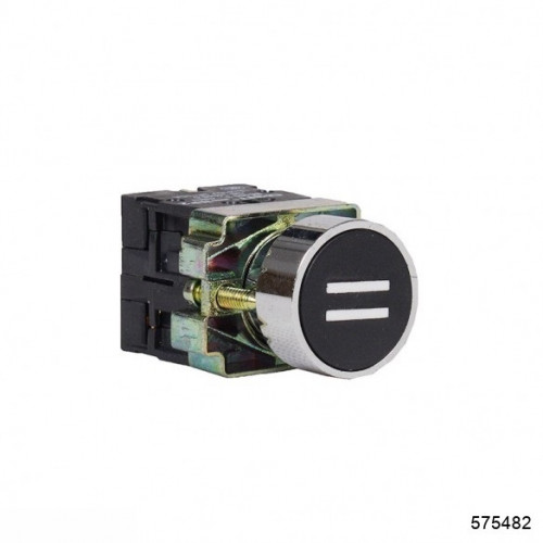 Кнопка управления NP2-BA1345 с маркировкой, 1НО +1НЗ IP40 (CHINT), арт.575482