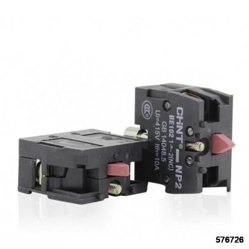 Блоки контактные NP2-BE102, 1НЗ (CHINT), арт.576726
