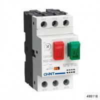 Пускатель NS2-25 0.1-0.16A (CHINT), арт.495118