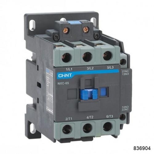 Контактор NXC-18 18A 220В/АС3 1НО+1НЗ 50Гц (CHINT), арт.836904