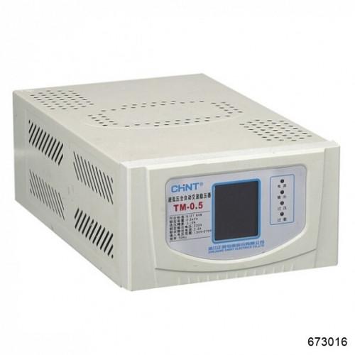 Автоматический ступенчатый регулятор напряжения TM-10 . 10 кВА (CHINT), арт.673016